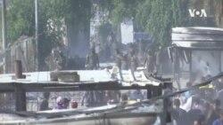 伊拉克總理宣布辭職 抗議者繼續抗議 (粵語)