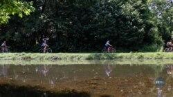 З варениками у наплічнику: Як українські скаути на велосипедах їздили до американської столиці. Відео