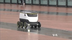 Self-Driving Robots May Someday Handle Package Deliveries