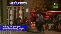 VOA60 Africa 8-14 - Burkina Faso Ends Operation Against Suspected Jihadists