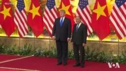 Thủ tướng Nguyễn Xuân Phúc tiếp Tổng thống Mỹ Donald Trump