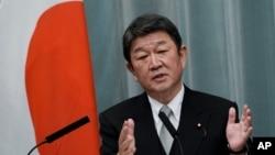 資料照:日本外交大臣茂木敏充