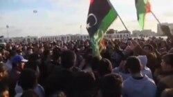 تظاهرات هزاران نفر در شهر بنغازی در لیبی