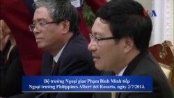 VN-Philippines tính chuyện liên minh trước sự trỗi dậy của Trung Quốc