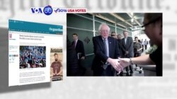 VOA60 Elections - The Guardian: Vermont Senator Bernie Sanders drew a record crowd at a Brooklyn, New York