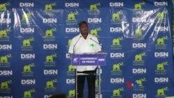 Le président réélu Sassou Nguesso s'adresse à la nation