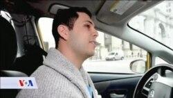 Novogodišnji kalendar sa taksistima New Yorka