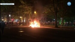 Başkent Washington'da Protestoculara Müdahale