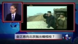 媒体观察:金正恩向北京抛出橄榄枝?