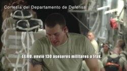 130 asesores militares estadounidenses a Irak