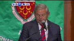 VOA60 America - Senator Robert Menendez says he will vote against the Iran nuclear deal - August 19, 2015