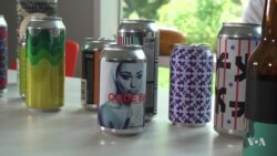 American Artist Prefers Beer Cans to Canvas