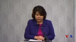 Zhanar Aitzhanova, Econ Integration Min of Kazakhstan, in Washington