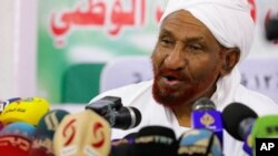 Tsohon Firaministan Sudan Sadiq al-Mahdi