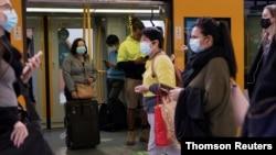 Sydney menerapkan sejumlah aturan baru kesehatan masyarakat di tengah pandemi virus corona, 14 Agustus 2021.