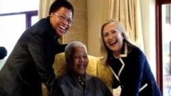 南非前总统曼德拉肺部感染再次入院