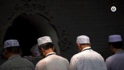 反映美国政府政策立场的视频社论:中国对宗教信仰发动战争