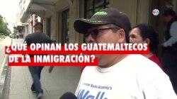 Encuesta: ¿Qué opinan los guatemaltecos de la inmigración?