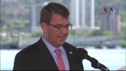 Bộ trưởng Quốc phòng Mỹ chỉ trích các hành động của TQ ở Biển Đông
