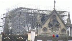 Notre Dame ဘုရားေက်ာင္း မီးေလာင္မႈ စံုစမ္းစစ္ေဆးေန