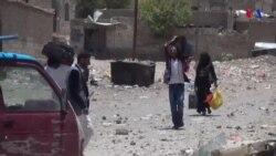 Cientos de desplazados por violencia en Yemen