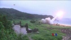 2017-08-08 美國之音視頻新聞: 北韓稱不再就核武討價還價 (粵語)