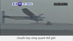Máy bay năng lượng mặt trời cất cánh tại Dubai (VOA60)