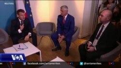 Paris, takim Thaçi-Vuçiç me ndërmjetësimin e presidentit Macron