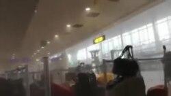 Vidéo : explosions à l'aéroport de Bruxelles