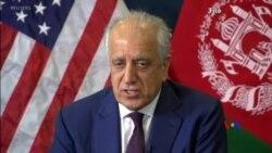 2019-01-29 美國之音視頻新聞: 美國鼓勵阿富汗對立雙方進行直接會談