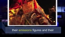 Học từ vựng qua bản tin ngắn: Emissions (VOA)