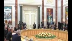 普京在烏克蘭危機陰影下在獨聯體峰會致辭
