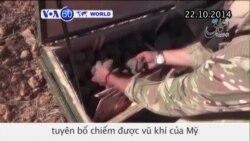 Chiến binh Nhà nước Hồi giáo tuyên bố chiếm được vũ khí của Mỹ (VOA60)