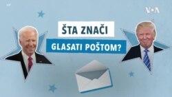 Šta znači glasati poštom?