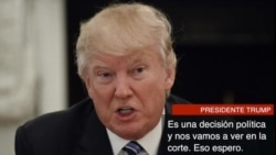 Trump y Washington reaccionan al fallo de la Corte de Apelaciones