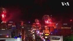 Новорічні феєрверки та шоу у різних містах США. Відео