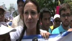 """Machado: """"Haremos retroceder a la dictadura"""""""