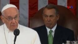 Đức Giáo hoàng làm Chủ tịch Hạ viện Mỹ khóc như thế nào?