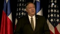 """""""China y Rusia están siendo hipócritas"""", Mike Pompeo en Chile"""
