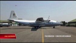 Máy bay quân sự Myanmar mất tích, chở theo 120 người