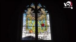 Історія української еміграції на вітражах церкви у Лондоні. Відео