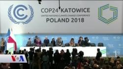 İklim Değişikliği Dünya Liderlerini Polonya'da Buluşturuyor