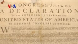 Declaration of Independence - An 'Expression of the American Mind' - (VOA On Assignment July 4, 2014)