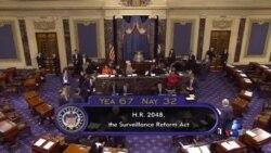 美参议院通过法案终止政府收集电话记录