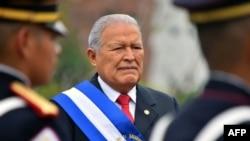 El expresidente salvadoreño, Salvador Sánchez Cerén, en una foto de archivo de 2018.