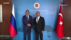 Lavrov ve Çavuşoğlu'ndan Ortak Basın Toplantısı