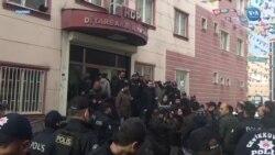 HDP'ye Açlık Grevi Baskını