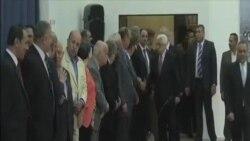 美以關注巴勒斯坦團結政府就職