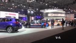 เทคโนโลยียานพาหนะสุดล้ำในงานแสดงรถยนต์นครนิวยอร์ค