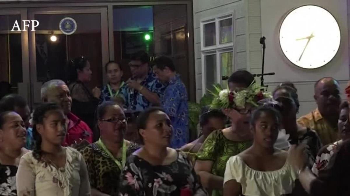 岛国图片社区_太平洋岛国论坛开幕式